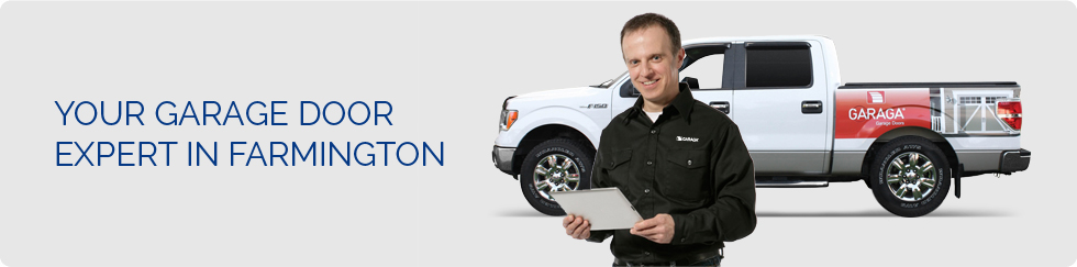 Your garage door expert in Farmington