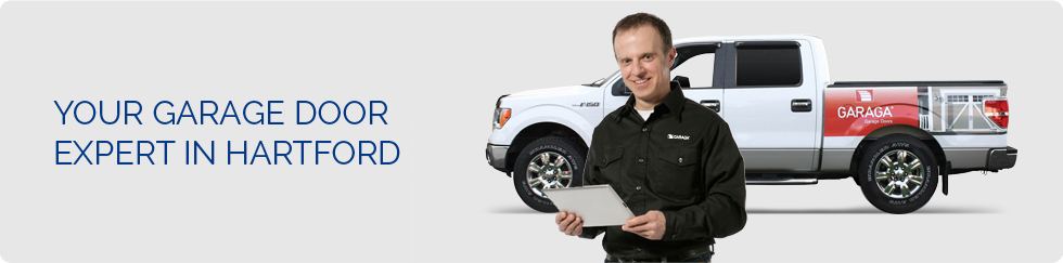 Your garage door expert in Hartford