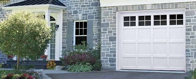 Cambridge CM, 9u0027 X 7u0027, Ice White Door And Overlays, 4