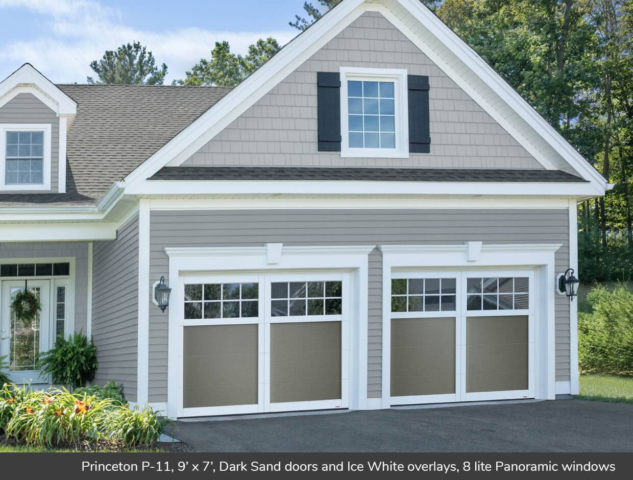 Princeton P-11, 9' x 7', Dark Sand, Panoramic 8 lite windows